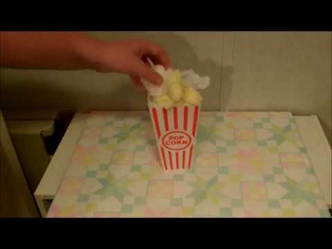 How to make Popcorn for a baby shower