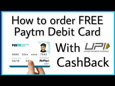 FREE me Paytm Payments Bank Debit Card Apply Karne Ki Jaanakaaree