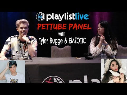 PetTube Panel with Emzotic & Tyler Rugge | Playlist Live Orlando 2018