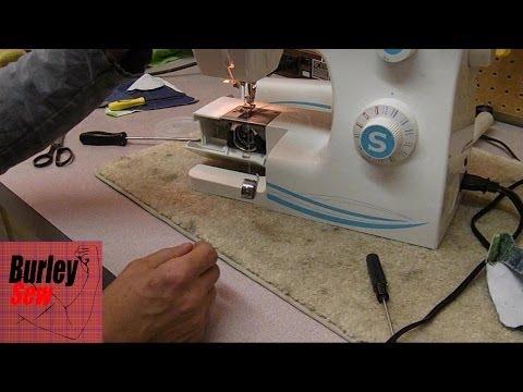 Fixing Thread Gathering On Bottom- Signer Oscillator Adjusting Bottom / Bobbin Tension