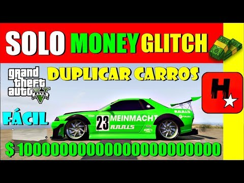 GTA 5 SOLO Money GLitch PS4/X1/PC | Glitch Duplicar Carros Solo | GTA 5 EASIEST Solo Money Glitch