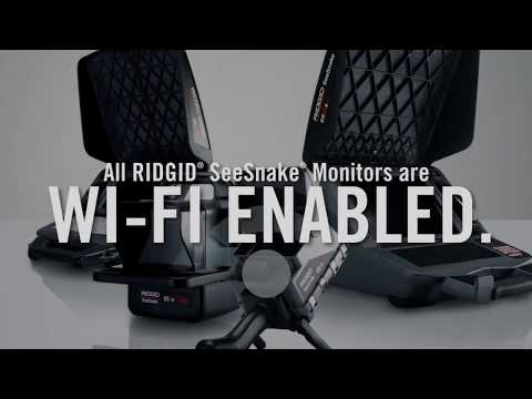RIDGID SeeSnake Digital Monitors - Stream Inspections to any iOS or Android Device