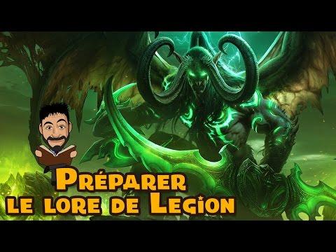 Préparer Legion : Roman Illidan, Tombe de Sargeras, Harbingers, Rivage brisé, Comics
