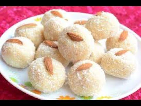 Coconut Ladoo Recipe in Hindi नारियल के लड्डू रेसिपी | How to Make NariyaL ke Ladoo at Home in HindI