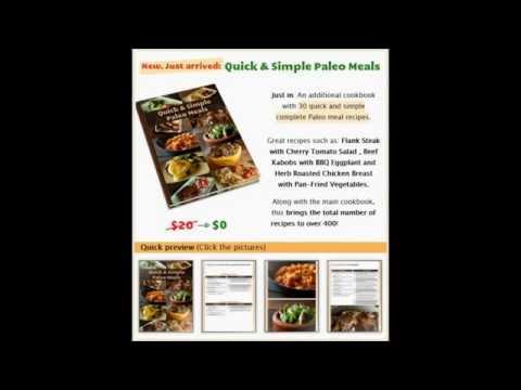Paleo Recipe Book Video Review