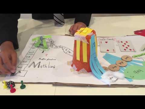 How I Designed an Award-Winning Math-themed Board Game
