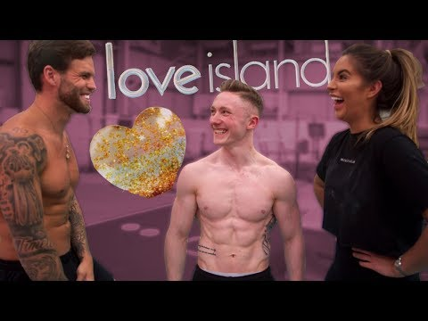 GYMNASTICS MEETS LOVE ISLAND ❤️ {Couples Challenge}