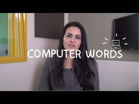 Weekly Mexican Spanish Words with Alex - Computer Words