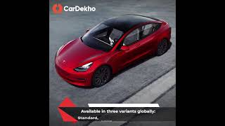 Tesla Model 3 in India: Features, Specifications, Range and More! Full Details   CarDekho.com