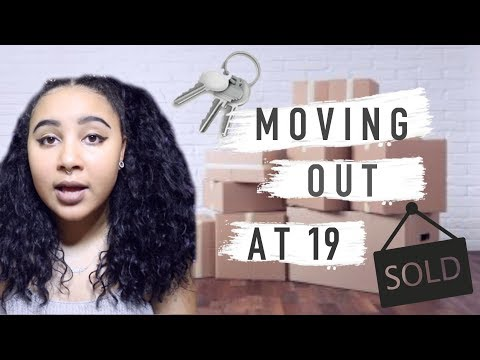 STORYTIME: HOW I MOVED OUT AT 19! (WITH TIPS)