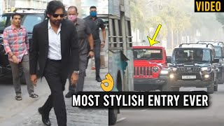 Power Star Pawan Kalyan Most STYLISH Entry Ever | Daily Culture