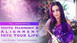 April Full Moon Ritual: Invite Balance & Harmony Into Your Life