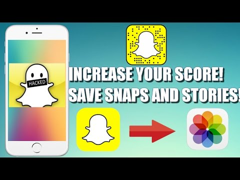 *NEW* How To Hack Snapchat! - Increase your score! Save Snaps and Stories! | NO JAILBREAK | NO PC |