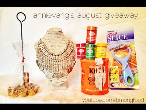 August Giveaway 2014 - CLOSED