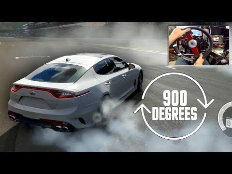 Forza 7 Can i Still Drift Online on 900 Degrees?? NEW Fanatec Wheel!