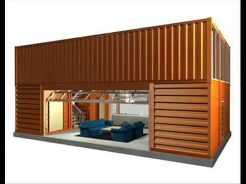 Cheapest house ever: shipping container home! | how much to build a shipping container home