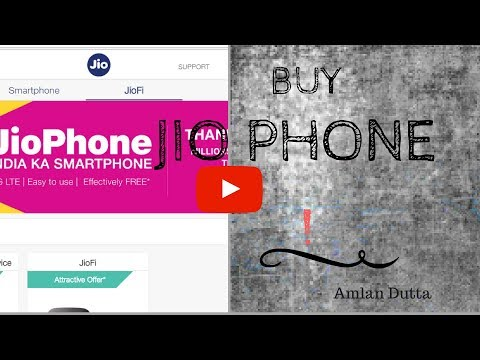 How to register interest to buy JioPhone?