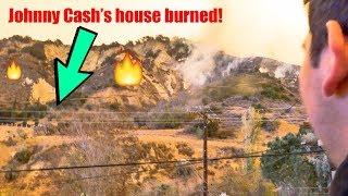 Thomas Fire, Santa Paula **Johnny Cash