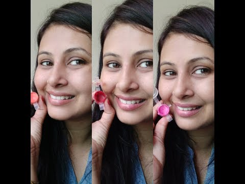 DIY colour lip balm using Vaseline and coconut oil in Hindi || How to make colored lip balm ||