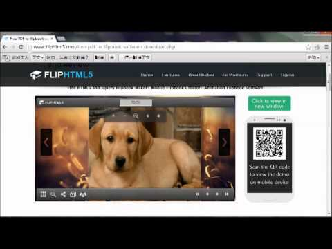 Flip HTML5 Course: Free PDF to flipbook software for iPad Free Download and Review