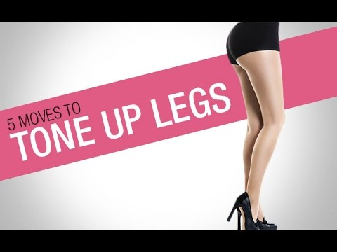 Bikini Thighs Workout (5 MOVES TO TONE UP LEGS!!)