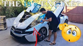 BMW doesn't want you to see your i8's engine!?