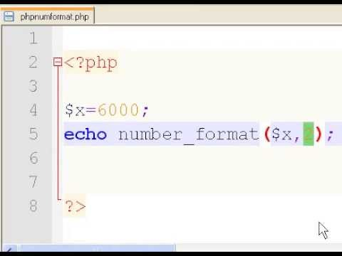 PHP Format Numbers Easily