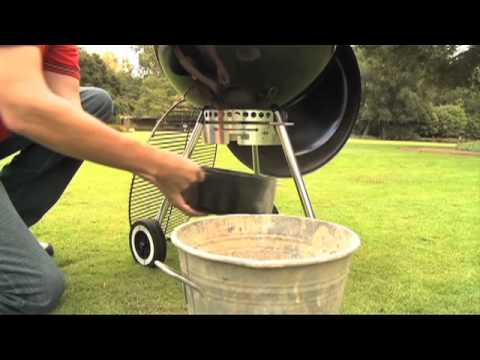 Weber Grills-Charcoal Grill Cleaning Tips