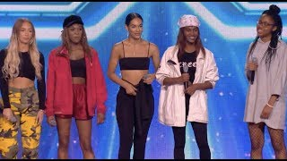 Lemonade Girls Blows Everyone Away With Beyonce Hit | Six Chair Challenge | The X Factor UK 2017