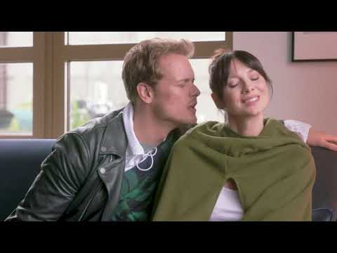 Hilarious! MTV Afterhours Sam Heughan & Caitriona Balfe of Outlander Attend Couples Therapy