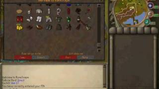 runescape bank vid(my first one)