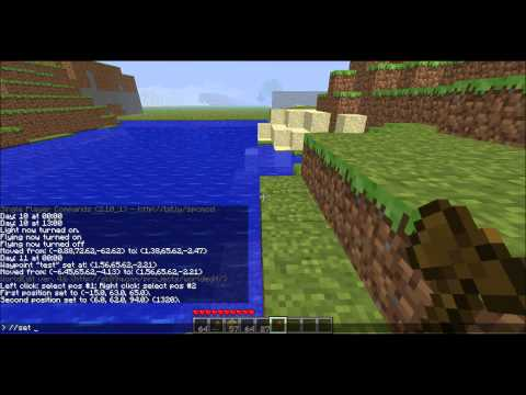 How to Install Single Player Commands Minecraft 1.0.0 + How to use the mod + How to use WorldEdit