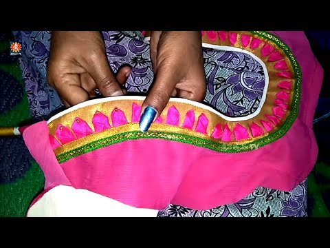 Designer blouse cutting and stitching By Sri Tv