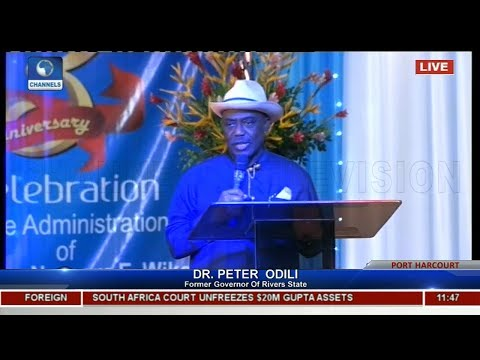 Rivers Scorecard: 'You Have Done Well, Carry Go' Frm Gov Odili Tells Wike  Live Event 