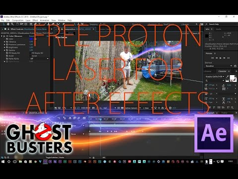 Free Proton Laser Effect Ghostbusters (After Effects)