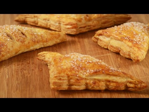 Apple Turnovers Recipe Demonstration - Joyofbaking.com