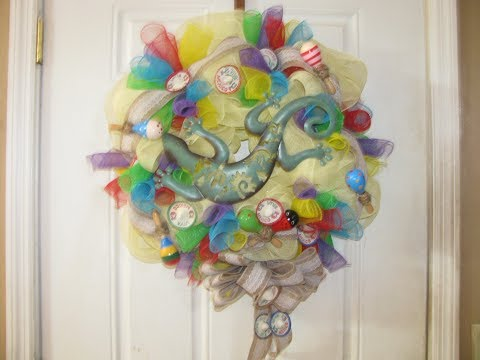 How To Make Carmen's Cinco De Mayo Deco Mesh Wreath