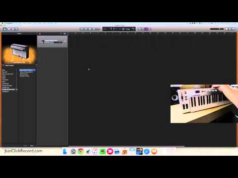 How To Add A MIDI Controller To GarageBand
