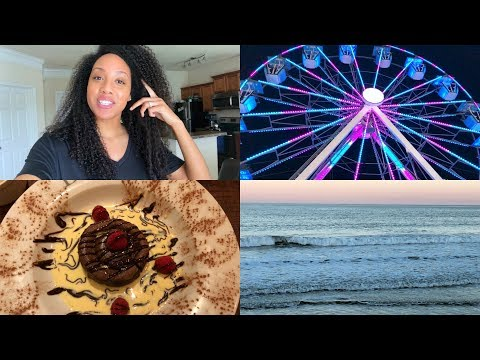 VLOG   Beach Day, Carnival and Good Food! ☀️