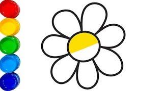 çiçek Boyama Videos 9tubetv