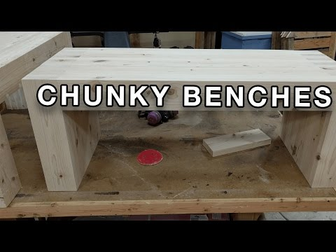 I make some Chunky benches