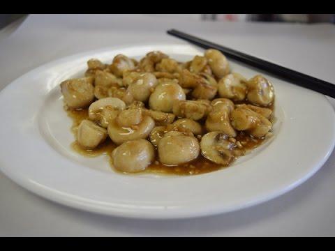 Mushroom with garlic