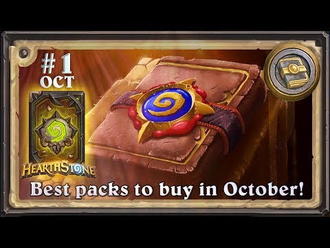 Best packs to buy in October 2017?  Mathematical answer! #1.(Hearthstone Chart)