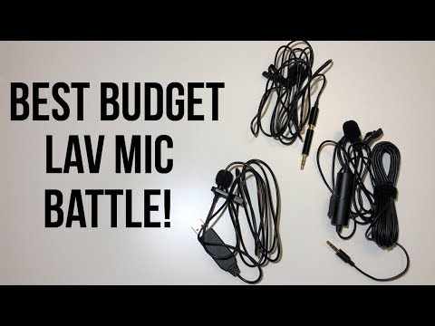 Best Budget Lav Microphone Compared
