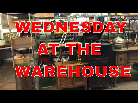 Just Another Wednesday at the Warehouse!
