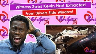 Kevin Hart's Crash Details Are NOT Adding Up+Witness Sees Kevin Hart Extracted From Drivers Window