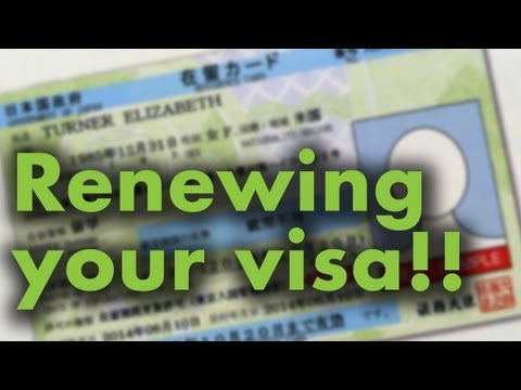 Renewing your visa!!