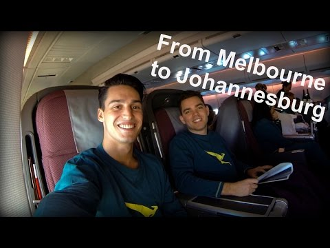 From Melbourne to Johannesburg   South Africa - VLOG #1