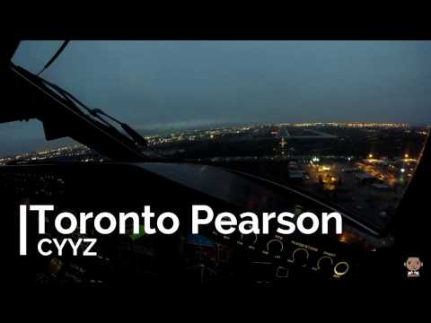 Landing at Toronto Pearson Airport