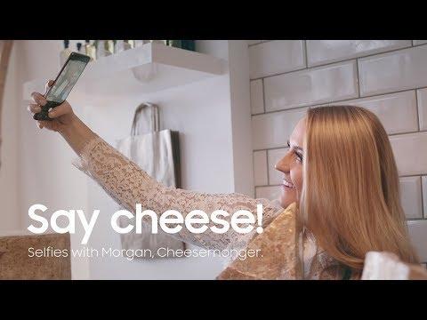 Samsung Galaxy S9 | S9+ | Say cheese! Selfies with Morgan, Cheesemonger